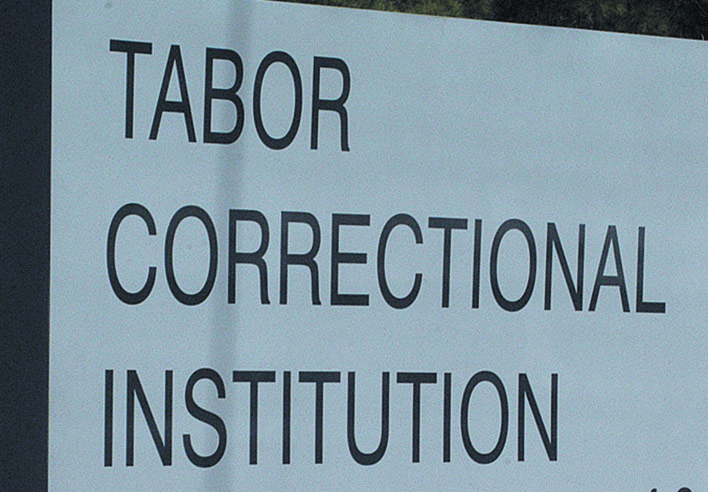 Tabor Correctional Institution Sign