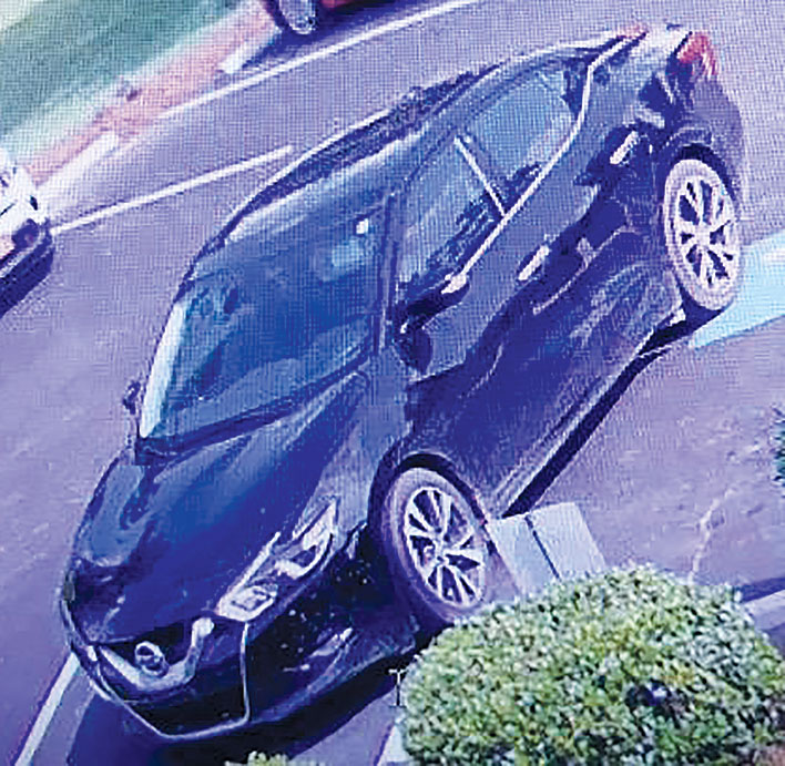 Bank Robbery Suspect Car