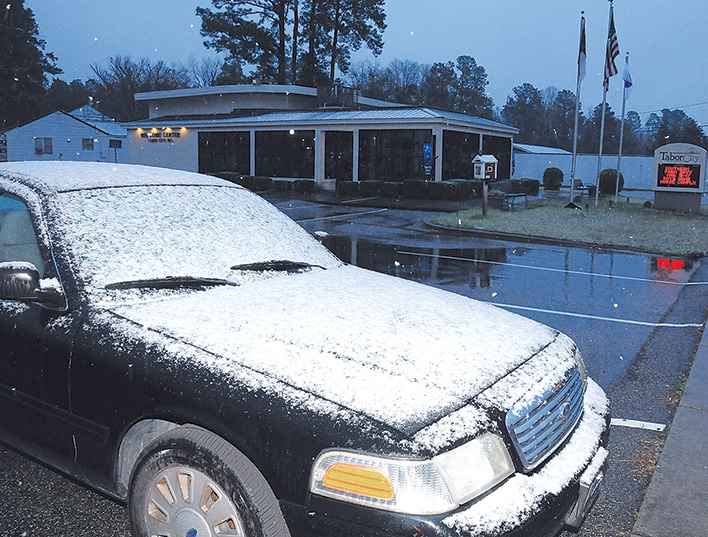 Snow Covered Car_Visitor Center