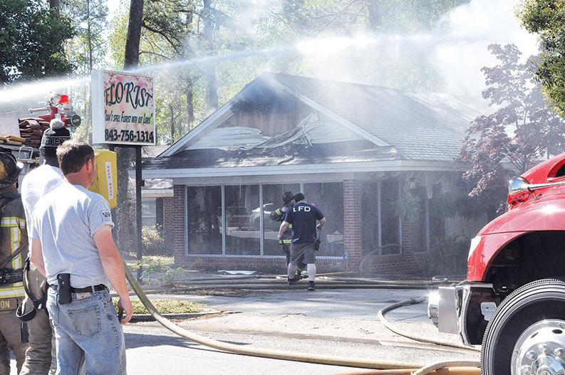 Fire Attack_Loris Florist